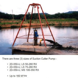CK DESILTING PUMP